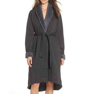 UGG Australia Robe Womens Duffield Charcoal Sz S